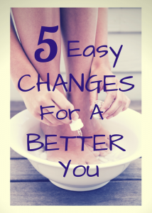 Blonde Mom Blog guest post | 5 Easy Changes to a Better You