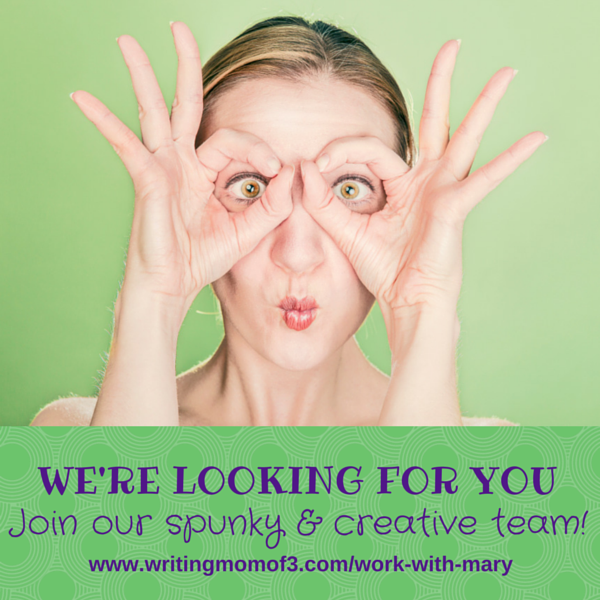 Working online with Mary | Join our spunky and creative team