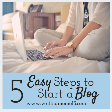 5 Easy Steps to Start a Blog