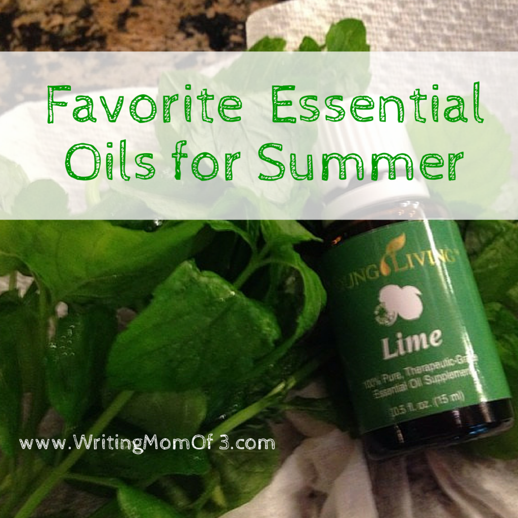 favorite summertime essential oils
